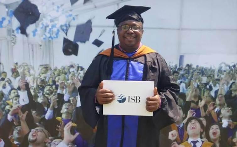 john matu isb mba graduation