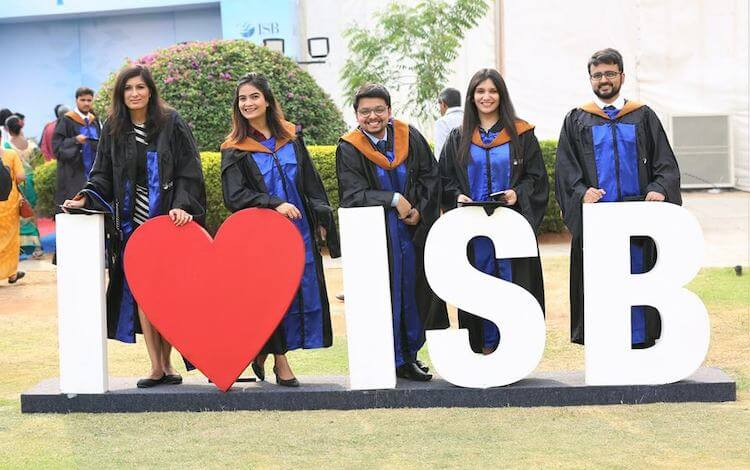 ISB MBA students stand a good chance of getting jobs