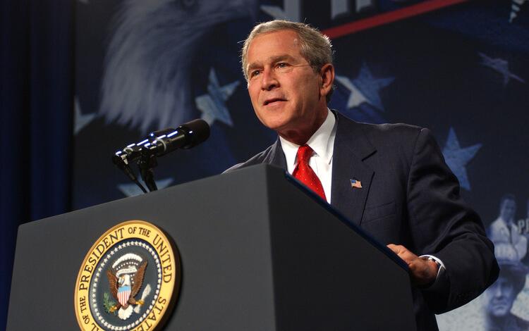 president george bush mba