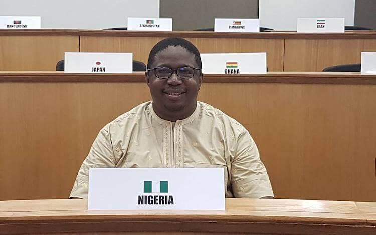 john matu from nigeria isb mba student