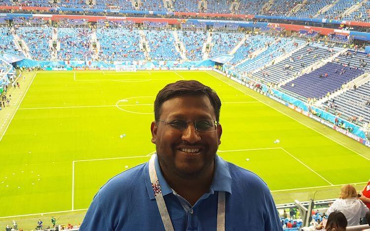 Indian entrepreneur Manas Sengupta