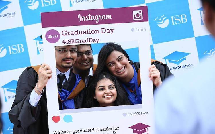 isb mba students land jobs three months before graduation