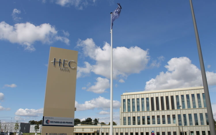 Most Popular Business Schools On Twitter - HEC Paris