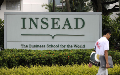 INSEAD's MBA became the first one-year program to top the FT MBA rankings