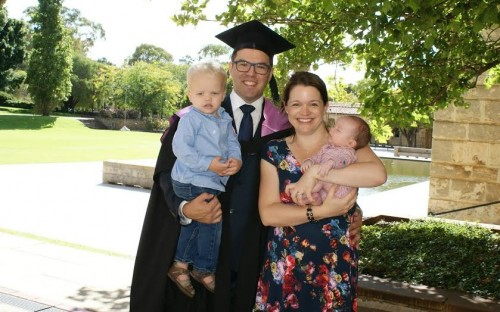 Nick is a UWA MBA grad juggling family and business