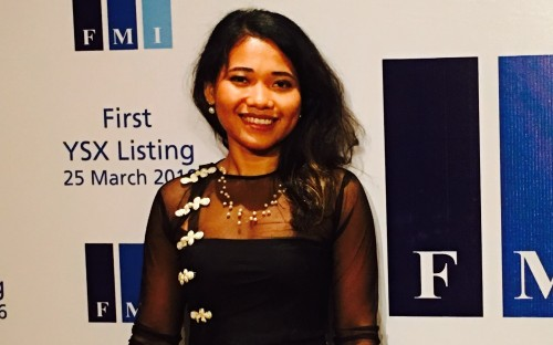 Aye Myat wants to integrate Myanmar into the world of investment banking