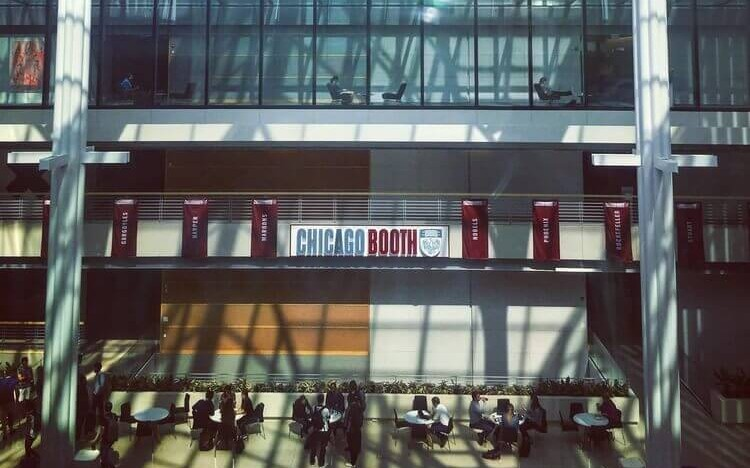 (c) Chicago Booth: Jason chose Chicago Booth Business School to kick-start his finance career