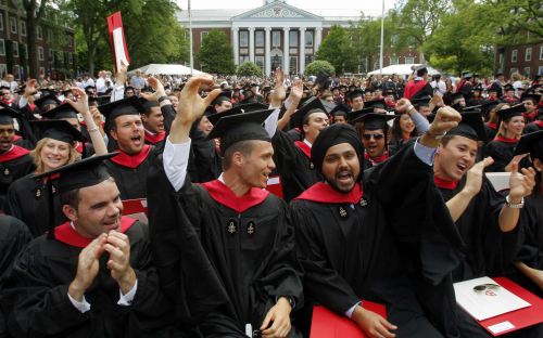 Harvard Business School has awarded a record amount of funding for scholarships