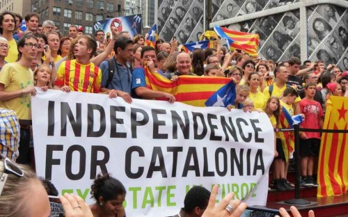 90% voted for Catalan independence in a unilateral referendum on October 1st