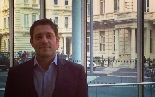 Angelo Sorrentino is studying a full-time MBA at Imperial College Business School in London