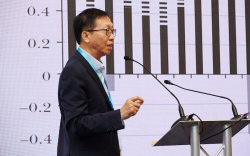 Xu Chenggang is an award-winning economics professor at China's CKGSB