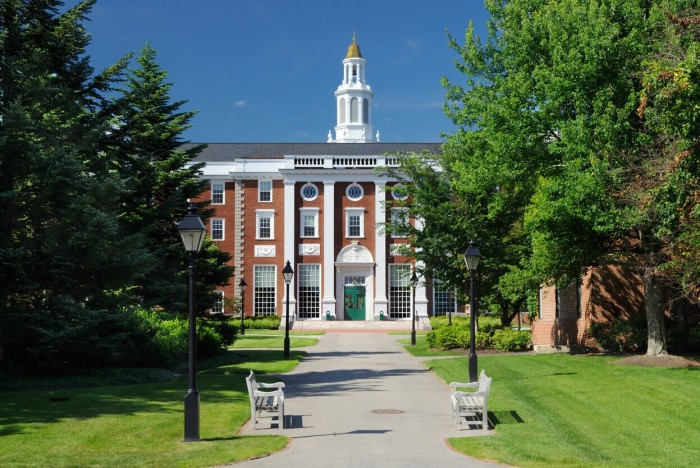 ©JorgeAntonio—The reputation of US business schools like Harvard is a key factor for MBA applicants