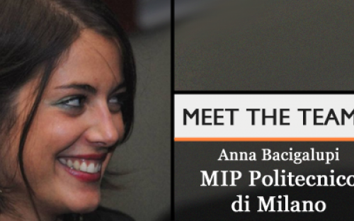 Anna Bacigalupi; Marketing and Admissions Manager, MBA Division MIP, Politecnico di Milano