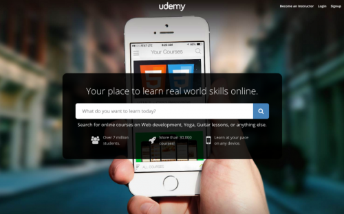 "Digital Disruptor: Udemy wants to ""disrupt the future of education"""