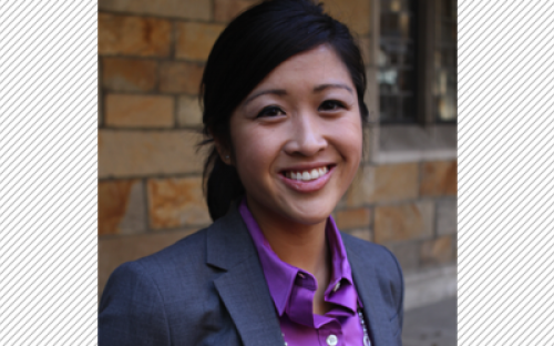 Maggie Ly, president of the Retail and Luxury Goods Club at Michigan: Ross