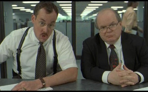 Did the consultants in the movie Office Space have the four