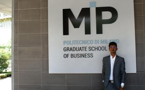 Varun Bohra is an MBA graduate from Italy's MIP Politecnico di Milano
