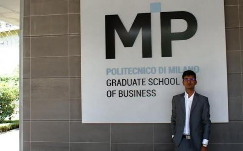 Varun Bohra is an MBA graduate from Italy's MIP Politecnico di Milano