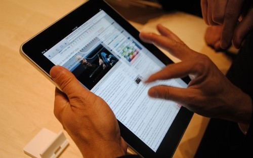 "IMD Begins a Trail Program Using iPads in the Classroom""The International MBA students will be given iPads to use in the Apps in Business project. In the  context of Nyenrode's International MBA, the iPad will play an important role in sharing informa"