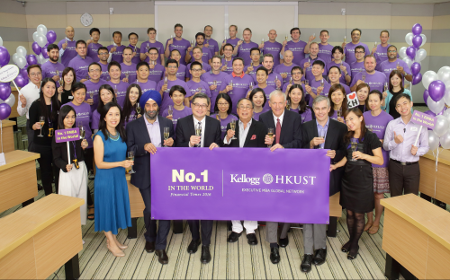 The strength of Kellogg/HKUST's program is the quality of its executive students