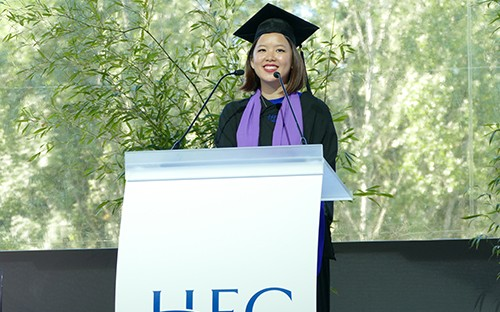 Sue graduated with an MBA from HEC Paris in 2017