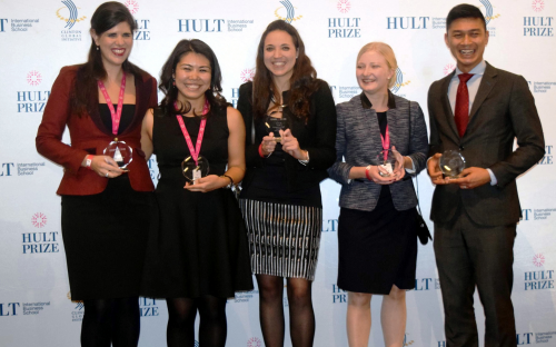 ESADE Business School's team Somos will compete in the Hult Prize final