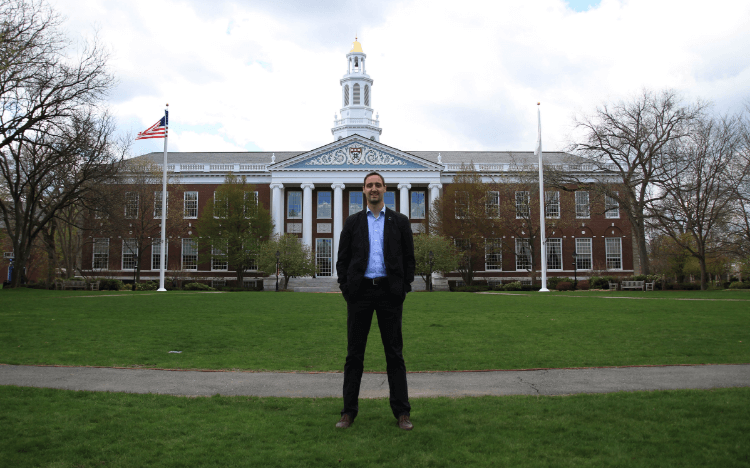 Walter's professional MBA in finance took him to Harvard and Boston's financial institutions
