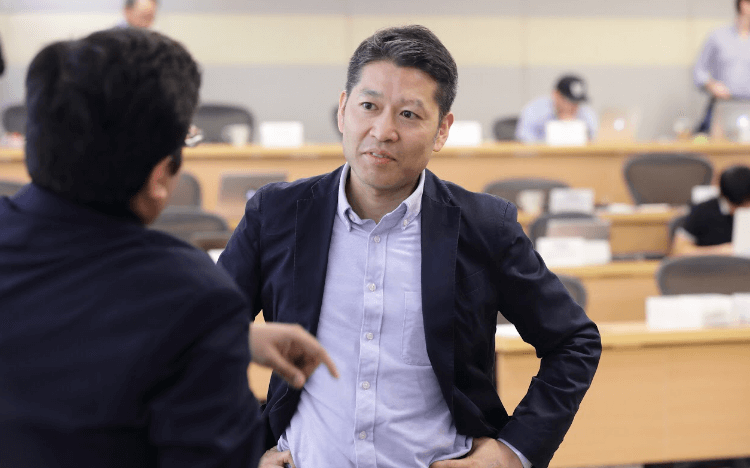 Minoru Kosaka embarked on a master's in global finance to update his know-how