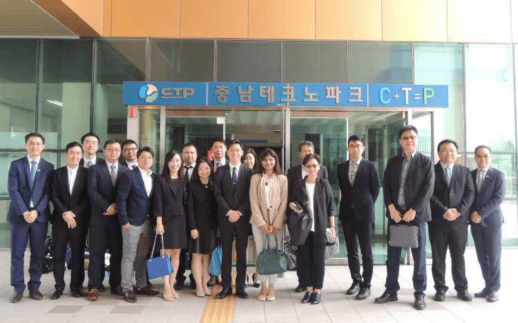 CityU MBAs in Chungnam Science Park, South Korea