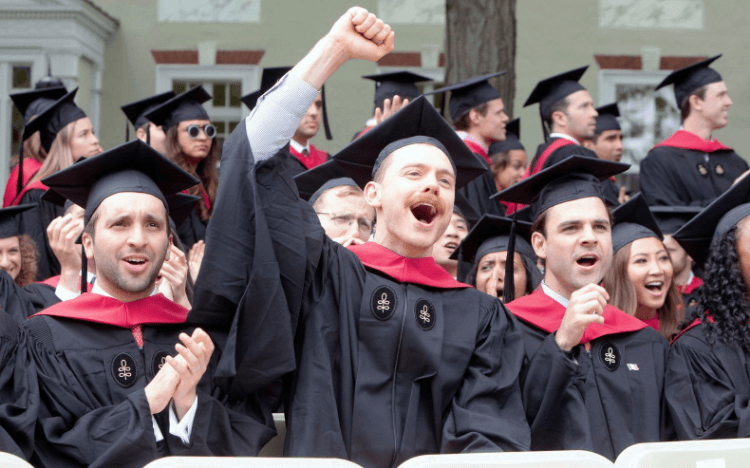 ©HBS-Facebook—Harvard Business School admitted just 9% of 9,886 applicants in 2018