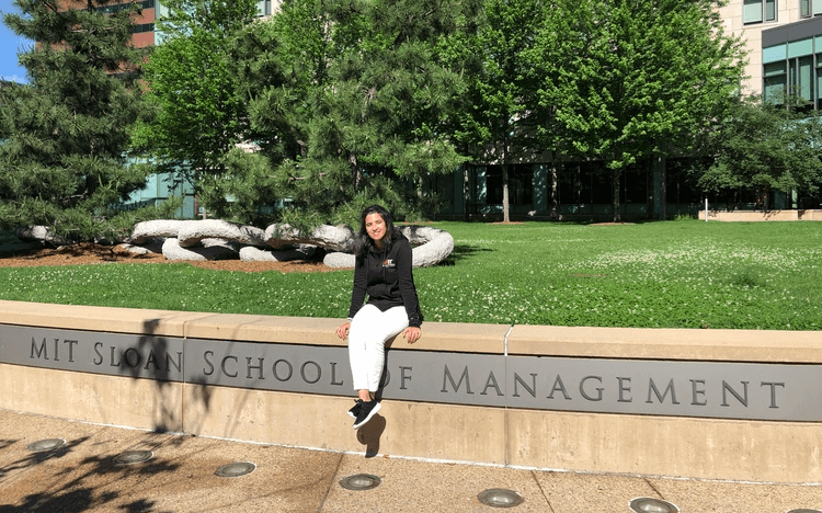 Luísa Aguiar tells us about living as an MIT student for a month as part of The Lisbon MBA
