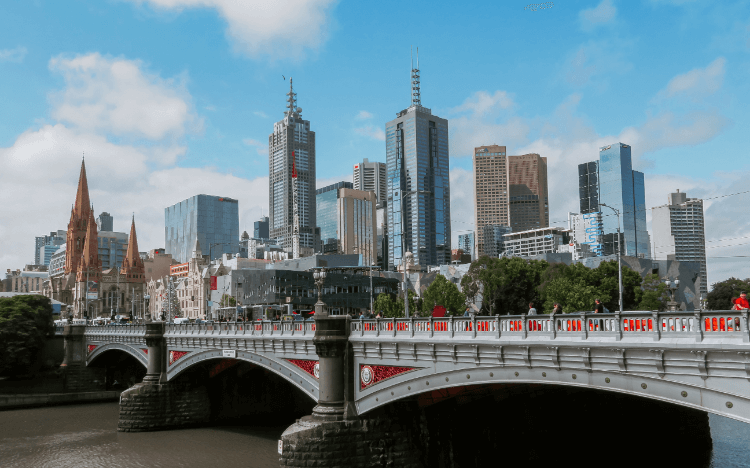 Melbourne's distinctive architecture, flourishing economy, and cultural hot-spots make it a hit with international students