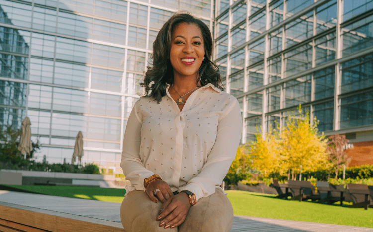 Ella Washington leads implicit bias tests and training for MBA students at Georgetown McDonough