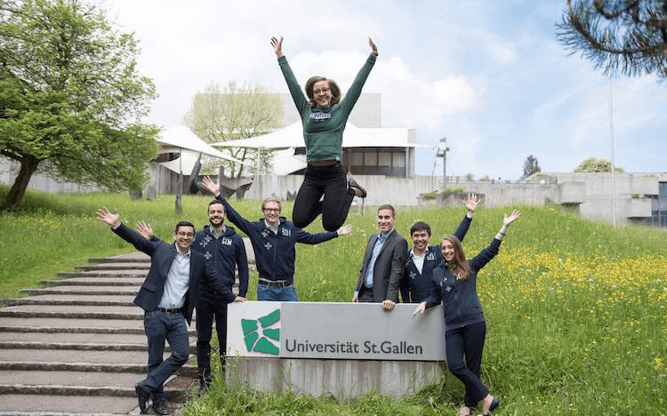 The University of St Gallen in Switzerland tops the Financial Times MiM ranking