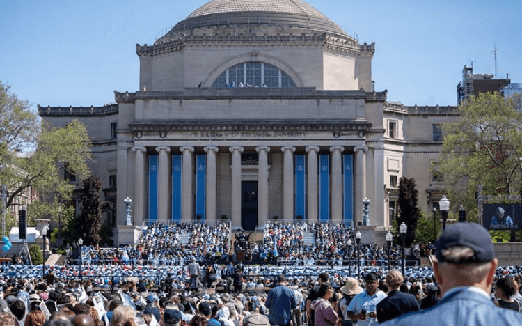 ©Facebook Columbia—Columbia Business School's EMBA students can expect a strong return on investment