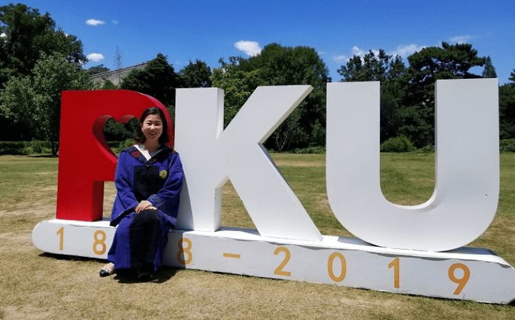 Jisun studied a part-time MBA so she could stay at Microsoft in China