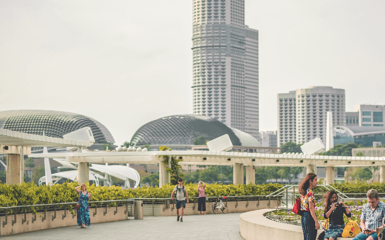 The vibrant city state of Singapore is a great spot for business school graduates to make their mark