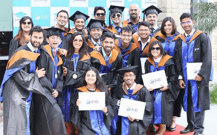 ©ISB—ISB MBAs can expect job offers and big salary jumps after graduation