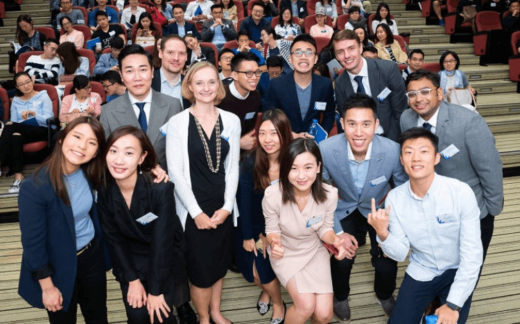 ©HKUST MBA - It was smiles all round for HKUST, as the school was ranked among the best business schools in Asia by Bloomberg