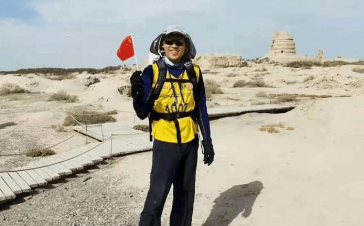 Mayuko was a participant in the Gobi Desert module, which trains MBA students on leadership development