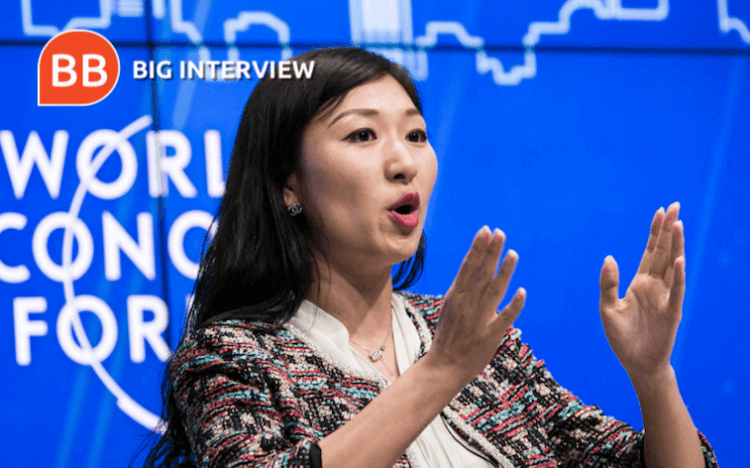 Helen Hai says the Tsinghua-INSEAD EMBA led her to the role at the cryptocurrency exchange Binance