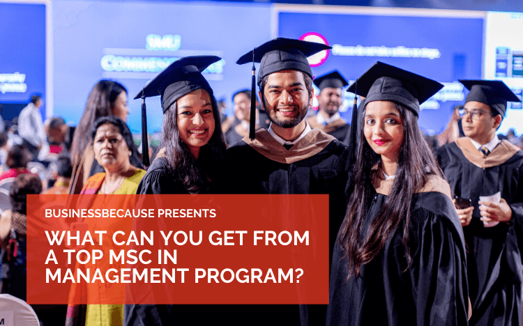 For those with less work experience and a desire to learn more about the core of business, an MSc might be right (Credit: SMU Facebook)