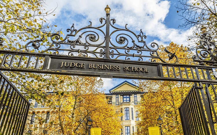 Cambridge Judge Business School sits in the top 10 MBAs for value for money, according to the Financial Times
