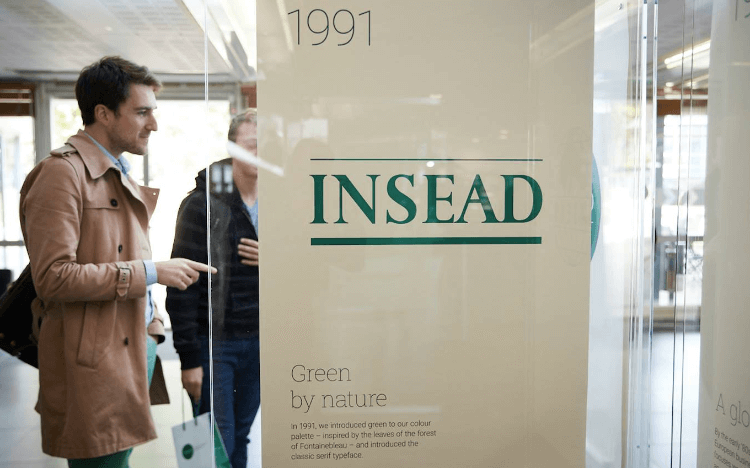 INSEAD is one of the most high-profile business schools to be hit by coronavirus ©INSEAD Facebook