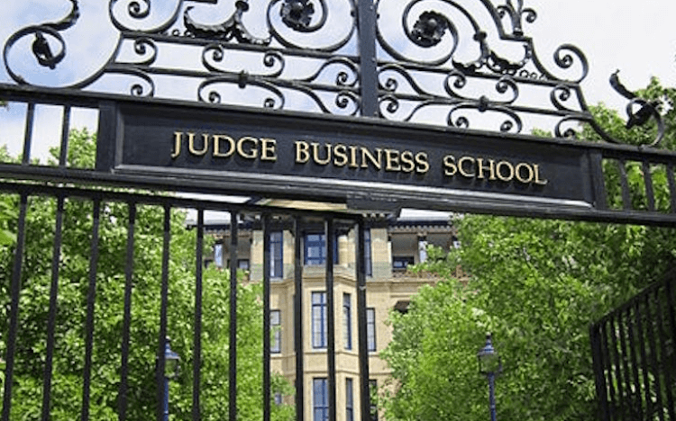 With campuses closed, Cambridge Judge is one of many business schools shifting its learning online