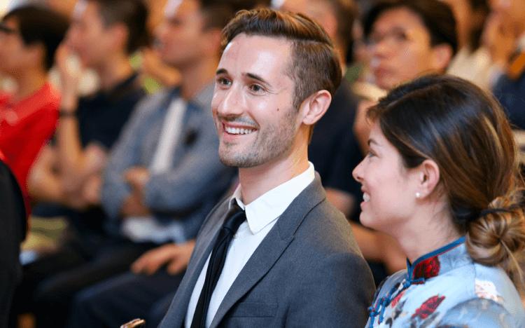 Alex Rudnicki got his 'dream job' at JD.com after an MBA at Tsinghua University
