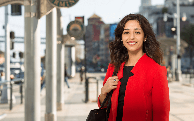 After her MBA at the University of San Francisco School of Management, Mona Ahmadi has gone on to champion women in finance