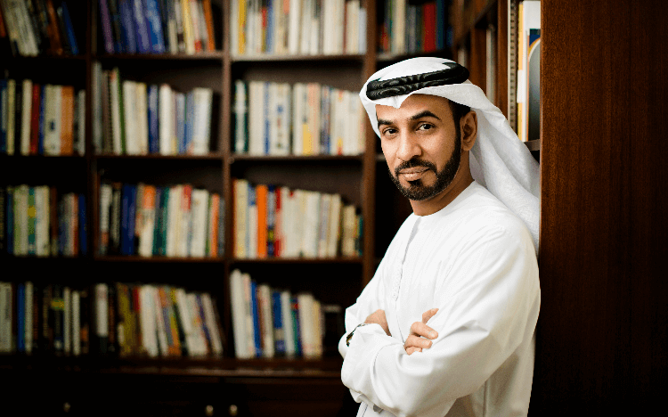Dr. Ali Saeed Bin Harmal Al Dhaheri pursued an MBA after years under his businessman father's tutelage. After graduating, he propelled his career to new heights.