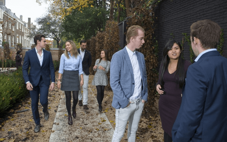 Master's in Management students at Nyenrode Business Universiteit could be benefiting from the switch to online learning