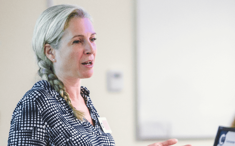 Dr Rosina Watson teaches sustainability modules across masters' courses offered at Cranfield School of Management